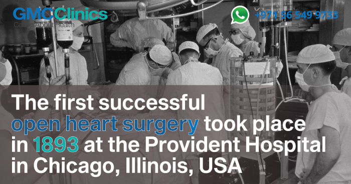 Did You Know – Open Heart Surgery